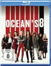 Ocean's 8, 1 Blu-ray Cover