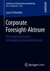 Corporate Foresight-Akteure