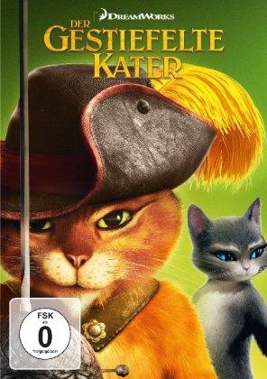 Der gestiefelte Kater, 1 DVD