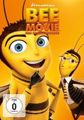 Bee Movie - Das Honigkomplott, 1 DVD