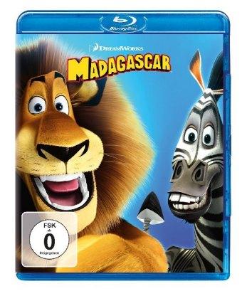 Madagascar, 1 Blu-ray