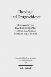 Theologie und Textgeschichte