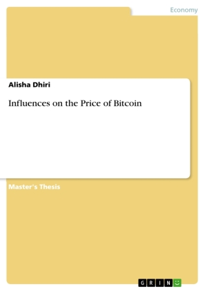 Influences on the Price of Bitcoin