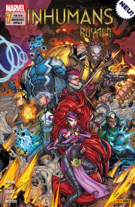 Inhumans: Royals 1 - Die Zukunft wartet nicht