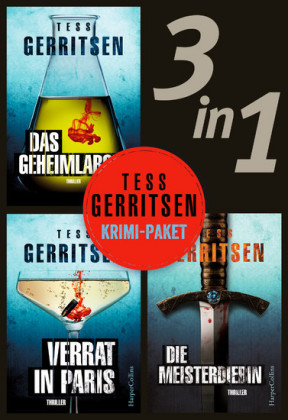 Tess Gerritsen - Krimi-Paket (3in1)
