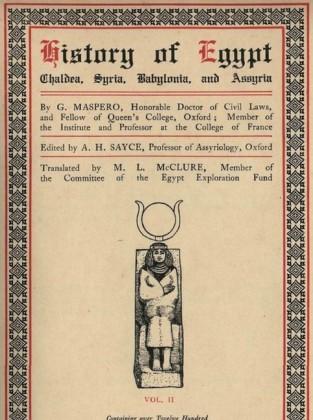 History of Egypt, Chaldea, Syria, Babylonia, and Assyria, Vol. 2