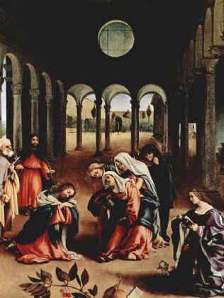 Lorenzo Lotto - Christi Abschied von Maria - 500 Teile (Puzzle)