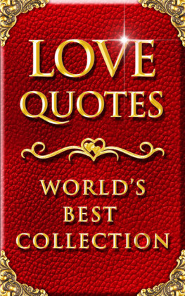 Love Quotes - World's Best Ultimate Collection