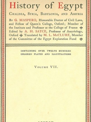 History of Egypt, Chaldea, Syria, Babylonia, and Assyria, Vol. 7