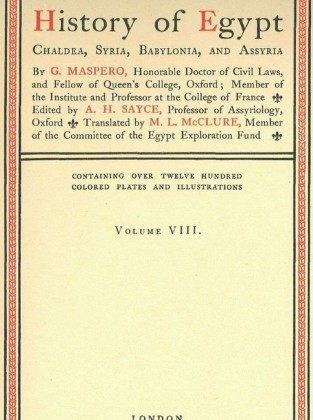 History of Egypt, Chaldea, Syria, Babylonia, and Assyria, Vol. 8
