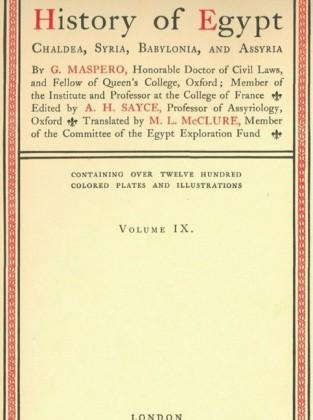 History of Egypt, Chaldea, Syria, Babylonia, and Assyria, Vol. 9