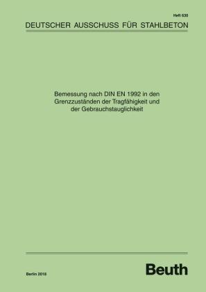 Bemessung nach DIN EN 1992 in den Grenzzuständen der Tragfähigkeit und der Gebrauchstauglichkeit