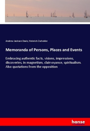 Memoranda of Persons, Places and Events