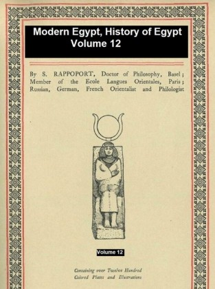 Modern Egypt, History of Egypt Vol. 12