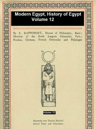 Modern Egypt, History of Egypt Vol. 12