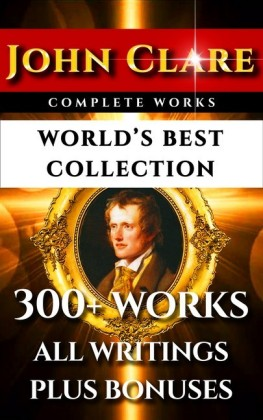 John Clare Complete Works - World's Best Collection