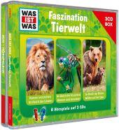 Was ist was Hörspielbox: Faszination Tierwelt, 3 Audio-CDs Cover
