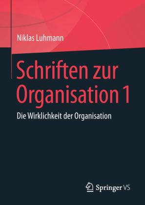 Schriften zur Organisation