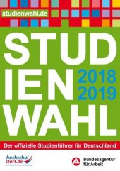 Studienwahl 2018/2019 Cover