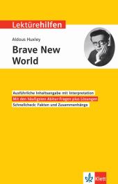 Klett Lektürehilfen Aldous Huxley 'Brave New World'