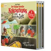 Der kleine Drache Kokosnuss reist durch die Zeit, 3 Audio-CDs Cover