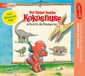 Alles klar! Der kleine Drache Kokosnuss erforscht... Die Dinosaurier, 1 Audio-CD