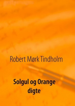 Solgul og orange