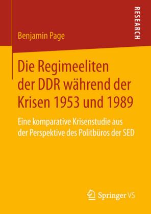 Die Regimeeliten der DDR während der Krisen 1953 und 1989
