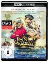 Jim Knopf und Lukas der Lokomotivführer 4K, UHD-Blu-ray Cover