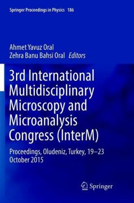 3rd International Multidisciplinary Microscopy and Microanalysis Congress (InterM)