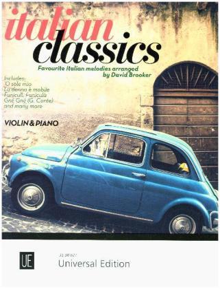 Italian Classics. Für Violine und Klavier