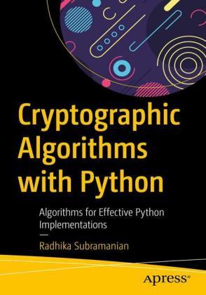 Cryptographic Algorithms With Python Shop Mediengruppe Deutscher