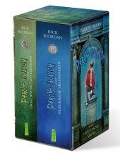 Percy Jackson erzählt: Griechische Göttersagen / Percy Jackson erzählt: Griechische Heldensagen, 2 Bde. Cover