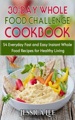 30-Day Whole Food Challenge Cookbook