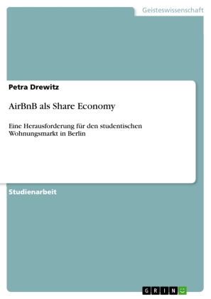 AirBnB als Share Economy