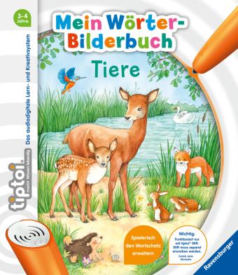 tiptoi® Mein Wörter-Bilderbuch Tiere; .