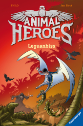 Animal Heroes, Leguanbiss Cover