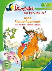 Mias Pferde-Abenteuer - Leserabe ab 1. Klasse - Erstlesebuch für Kinder ab 6 Jahren Cover
