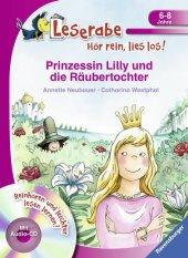 Prinzessin Lilly und die Räubertochter, m. Audio-CD Cover
