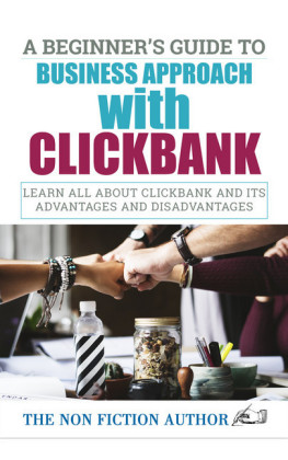 A Beginner's Guide to Business Approach with Clickbank