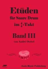 Etüden für Snare Drum im 4/4-Takt - Band 3