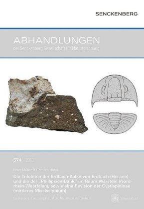 """Die Trilobiten der Erdbach-Kalke von Erdbach (Hessen) und die der """"Phillipsien-Bank"""" im Raum Warstein (Nordrhein-Westfal"""