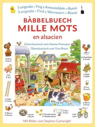 Bàbbelbuech. Mille mots en alsacien