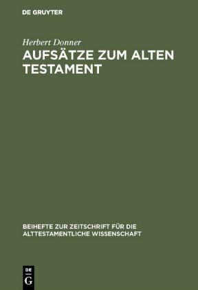 Aufsätze zum Alten Testament