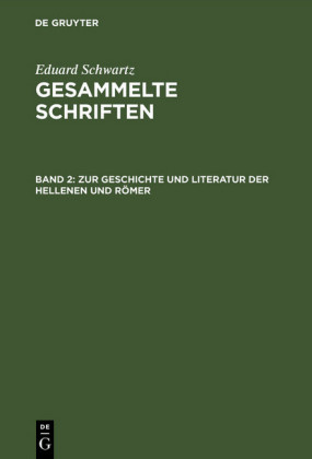 Zur Geschichte und Literatur der Hellenen und Römer