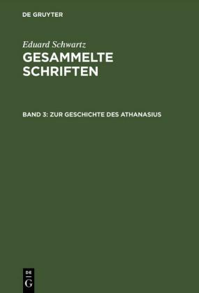 Zur Geschichte des Athanasius
