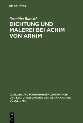 Dichtung und Malerei bei Achim von Arnim