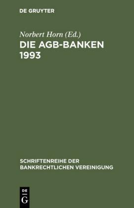 Die AGB-Banken 1993