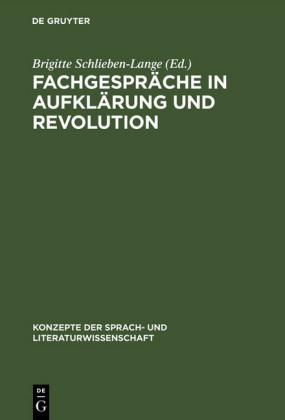 Fachgespräche in Aufklärung und Revolution