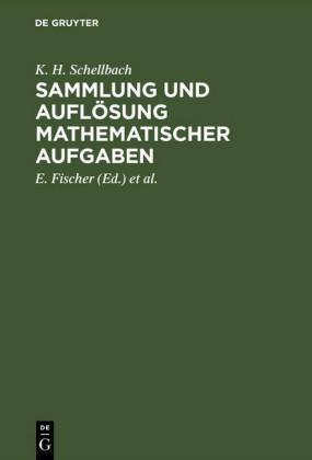 Sammlung und Auflösung mathematischer Aufgaben